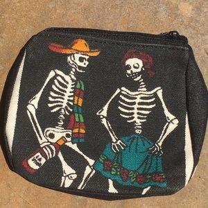 Baile Folklorico Dia Des Los Muertos Zip Pouch